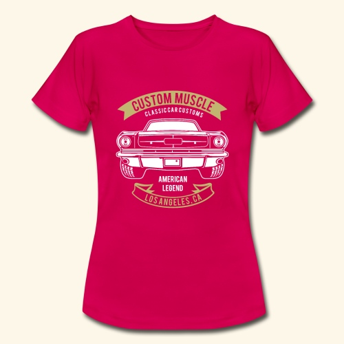 Custom Muscle - Frauen T-Shirt