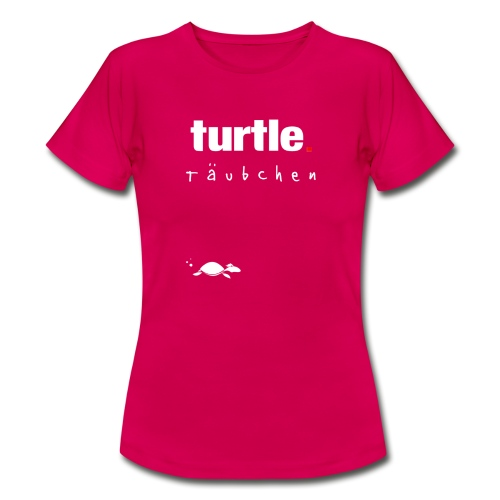 turtle.täubchen - Frauen T-Shirt