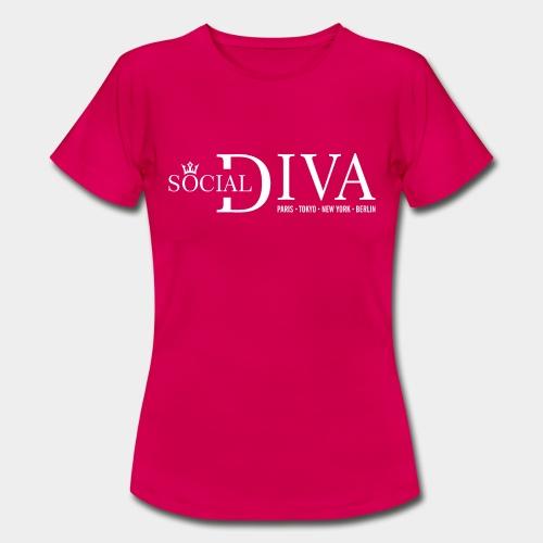 mode diva sociale - T-shirt Femme