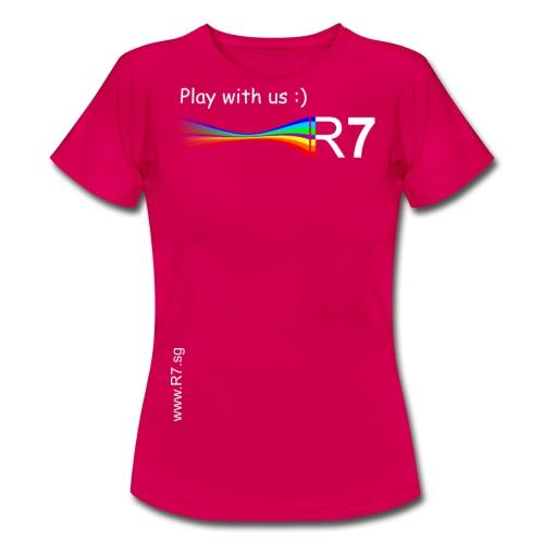 R7 TShirt2W png - Frauen T-Shirt
