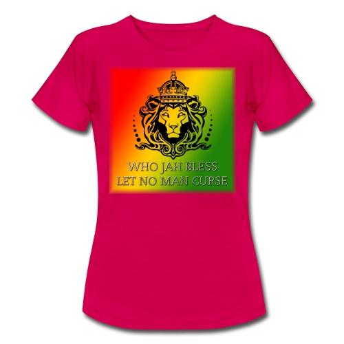 WHO JAH BLESS DESIGN - Women's T-Shirt