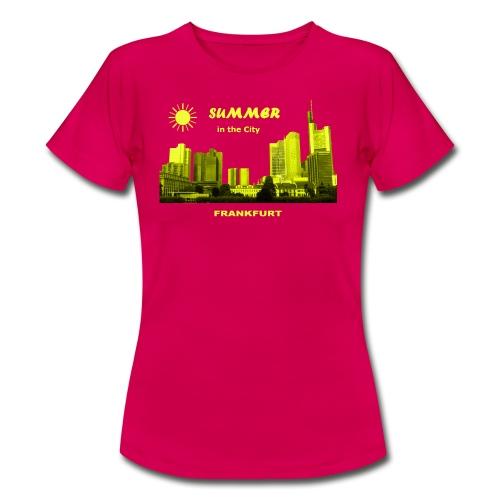 Summer in the City Frankfurt am Main - Frauen T-Shirt