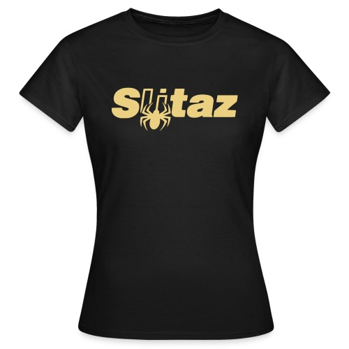SliTaz Black Logo - Women's T-Shirt