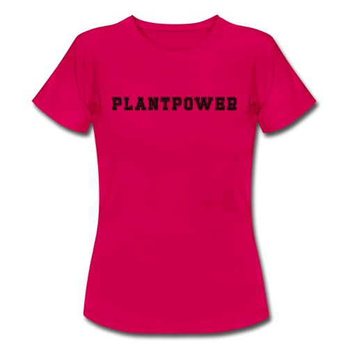 Plant Power Vegan Team Nummer 1 - Frauen T-Shirt