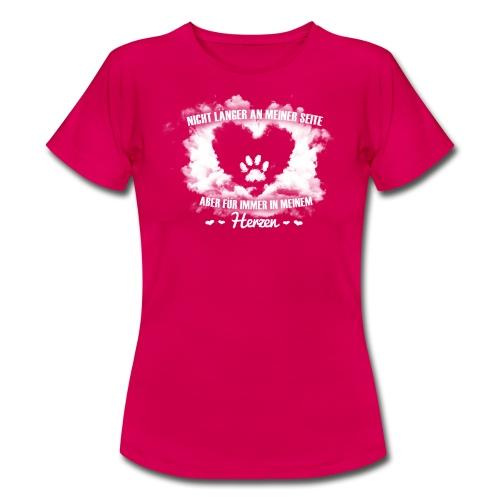 Hund im Herzen - Frauen T-Shirt