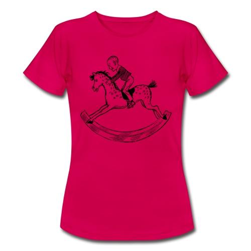 konik na biegunach - Koszulka damska