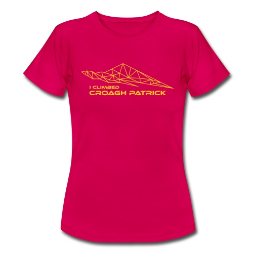 I climbed Croagh Patrick Geometric Design - Women's T-Shirt