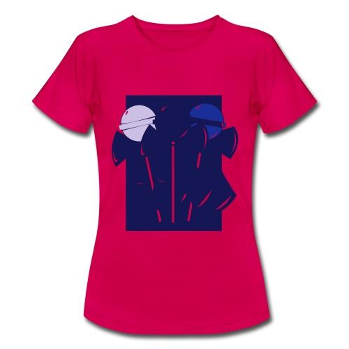 klubbor - T-shirt dam