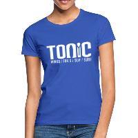 Tonic Logo - Women's T-Shirt - royal blue
