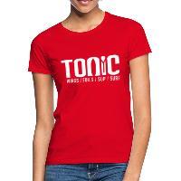 Tonic Logo - Women's T-Shirt - red