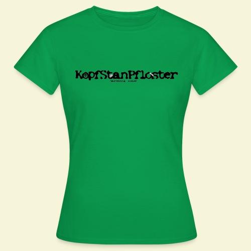 KopfStanPfloster Banner - Frauen T-Shirt