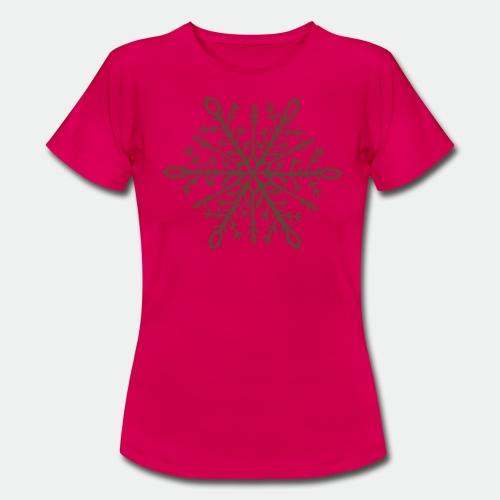 Snowflake mandala - Women's T-Shirt