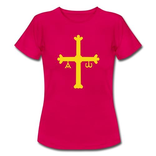 Cruz Asturianas - Camiseta mujer