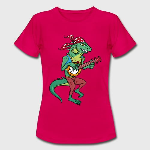 Tzigane iguane avec Banjo - T-shirt Femme