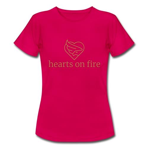 hearts on fire Signature - Frauen T-Shirt