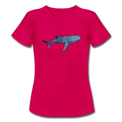 Whale shark - T-shirt Femme