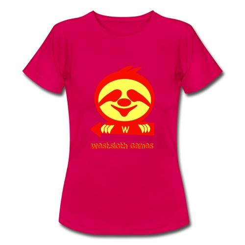 WestSloth Games Logo - Naisten t-paita