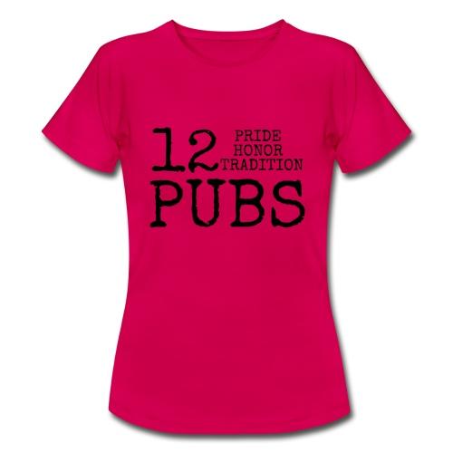 12 Pubs 2018 - T-shirt dam