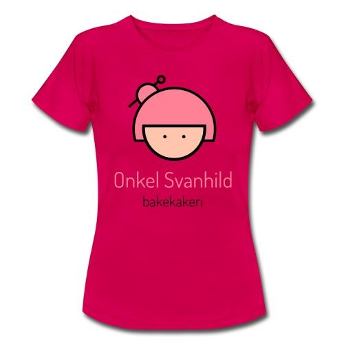 Onkel Svanhild - T-skjorte for kvinner
