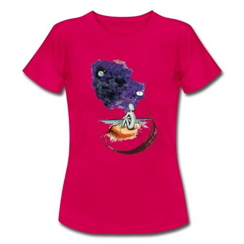 Extraterrestre en contemplation - T-shirt Femme