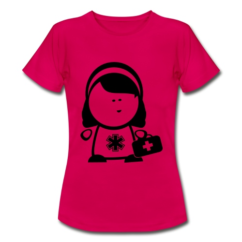 Retter Sani Girl - Frauen T-Shirt