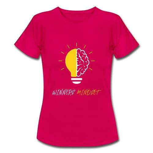 Winners Mindset - Ein Design für Gewinner - Frauen T-Shirt
