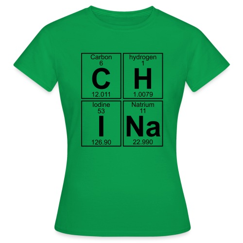 C-H-I-Na (china) - Full - Women's T-Shirt
