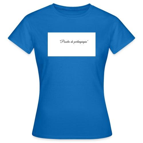 Happy - T-shirt Femme