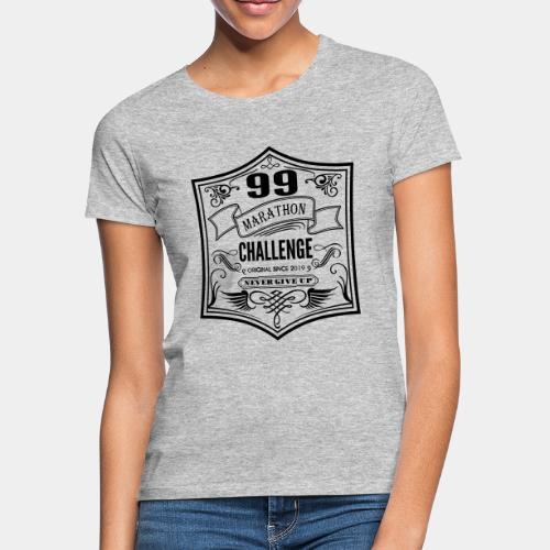 99 marathon challenge - Koszulka damska