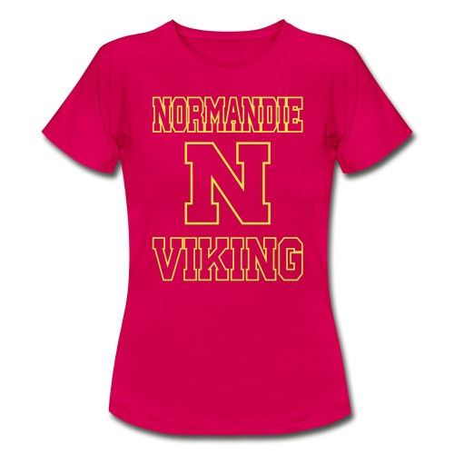 Normandie Viking Def jaune - T-shirt Femme