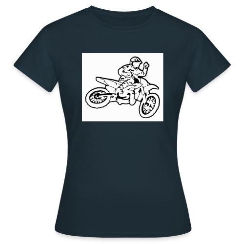 moto l k - T-shirt Femme
