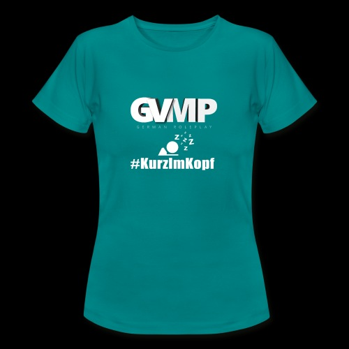 Kurz im Kopf - Frauen T-Shirt