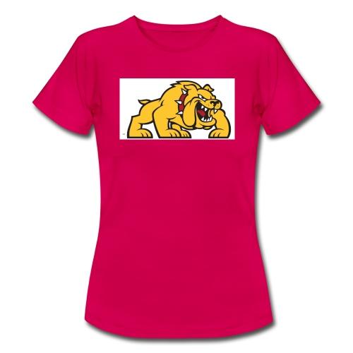 Bulldog logo ml - Camiseta mujer