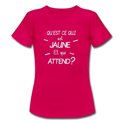 Edition Limitee Jonathan Black - T-shirt Femme