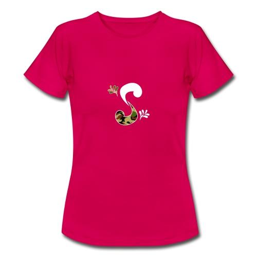 Milli White Camo - T-shirt Femme