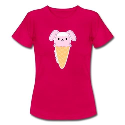 (ice)cream Bunny - Maglietta da donna