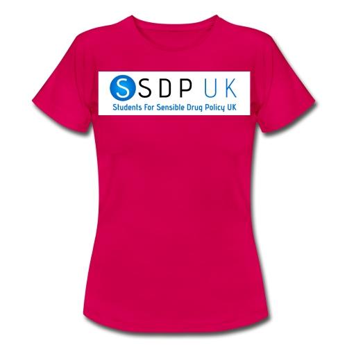 SSDP Circle Gradient wText jpg - Women's T-Shirt