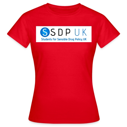 SSDP Circle Gradient wText jpg - Women's T-Shirt