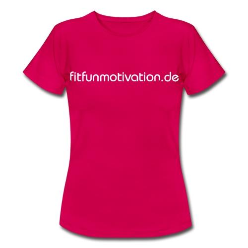 ffm schriftzug - Frauen T-Shirt