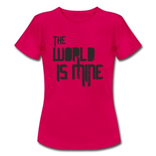 T-shirt THE WORLD IS MINE - Koszulka damska