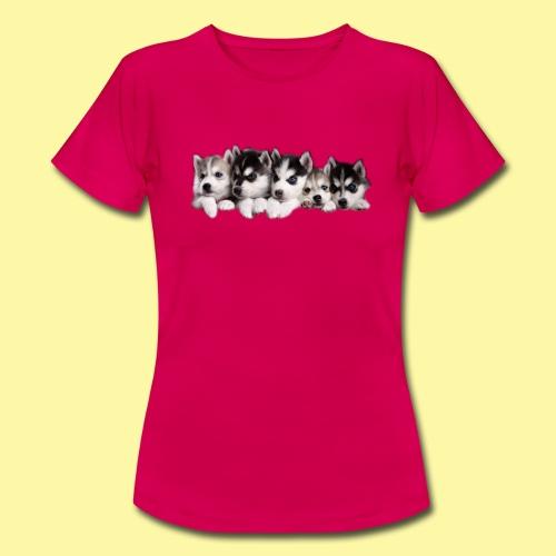 husky30 png - Frauen T-Shirt