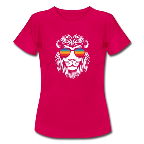 Lion Sunglas - Frauen T-Shirt