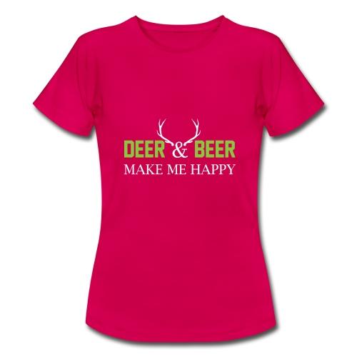 Deer Beeer2 - Frauen T-Shirt