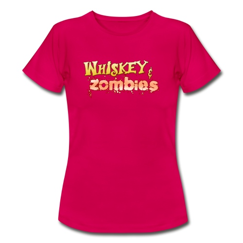 Whiskey Zombies Logo - T-shirt dam