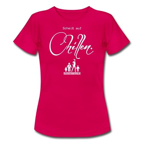 FFP Scheißaufchillen Vektor - Frauen T-Shirt