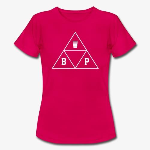 Beer Pong Dreieck-eck-eck - Frauen T-Shirt