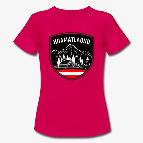 Hoamatlaund logo - Frauen T-Shirt