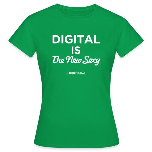 Digital is the New Sexy - Maglietta da donna