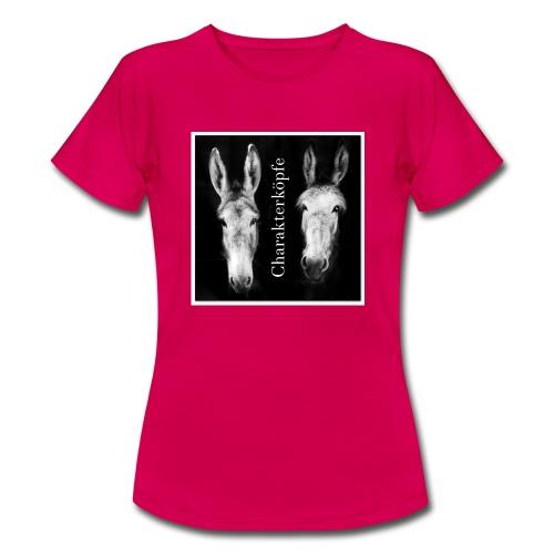 Eselköpfe_Charakterköpfe - Frauen T-Shirt
