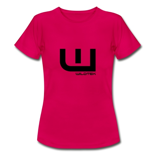 Wildtek Logo Black - Women's T-Shirt